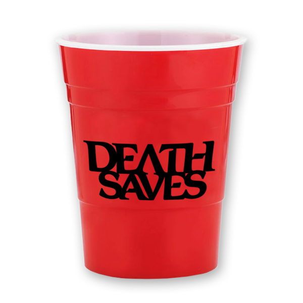 Death Saves Reusable Party Cup (Red)