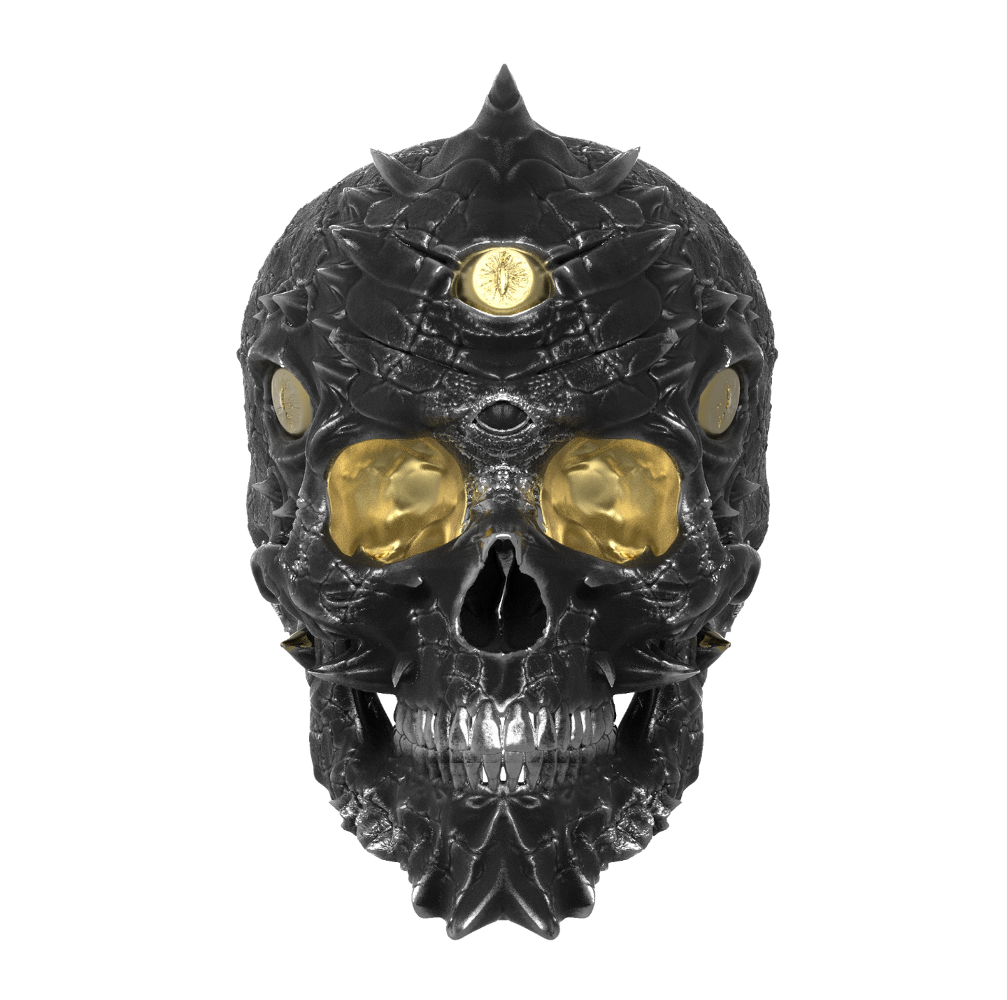 Cursed Skull Of The Dragon Wizard Ring | Duality