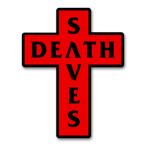 DS Cross Patch (Red)