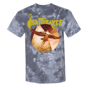 Frazetta Flight of Icarus SS T-Shirt (Grey Tie Dye)