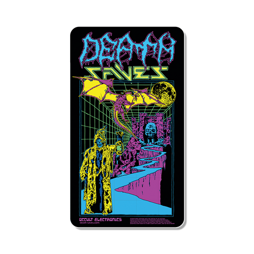 Occult Electronics Sticker (Neon)