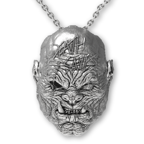 Orc Pendant | Silver