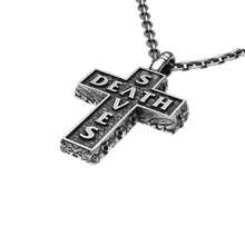 Death Cross Pendant | Silver