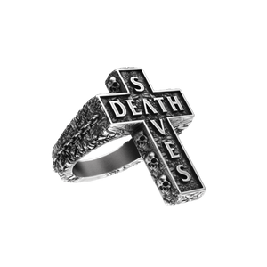 Death Cross Ring | Silver