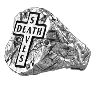 Death Saves Signet Ring | Silver