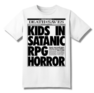Tabloid T-Shirt (White)