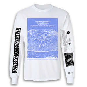 Tomb of Horrors LS T-Shirt (White)