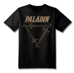 Paladin Swords T-Shirt (Gold)