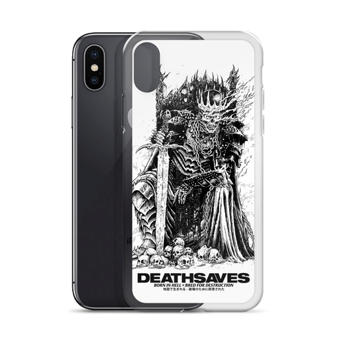 Death Knight [WHITE] iPhone Case