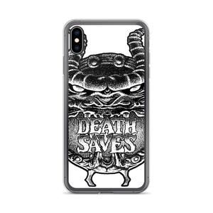 80s Cartoon Dragon Shield iPhone Case