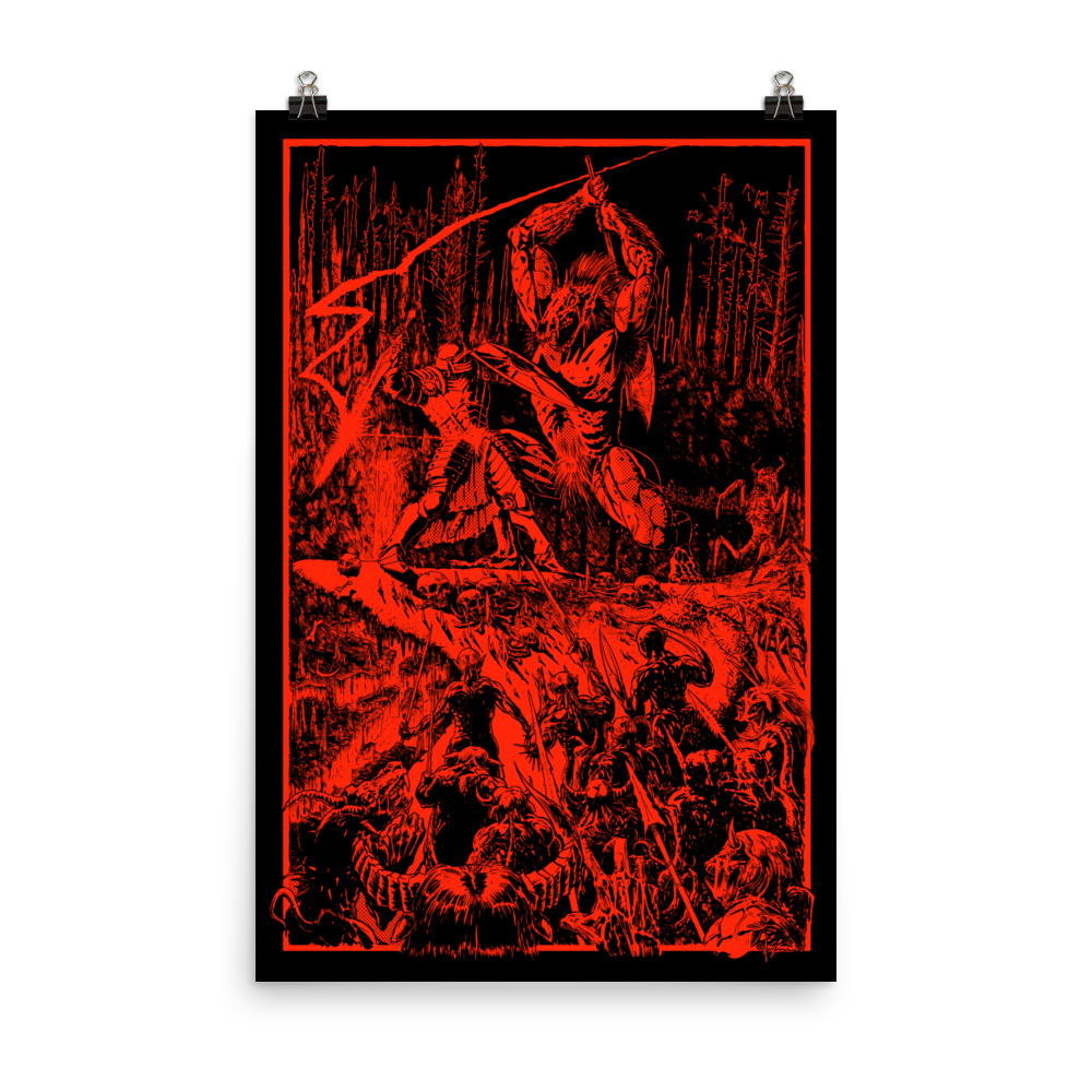 Paladin in Hell (Redux) Poster [24x36]