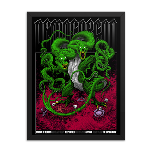 D&D Demogorgon Framed Poster 18x24 [COLOR]