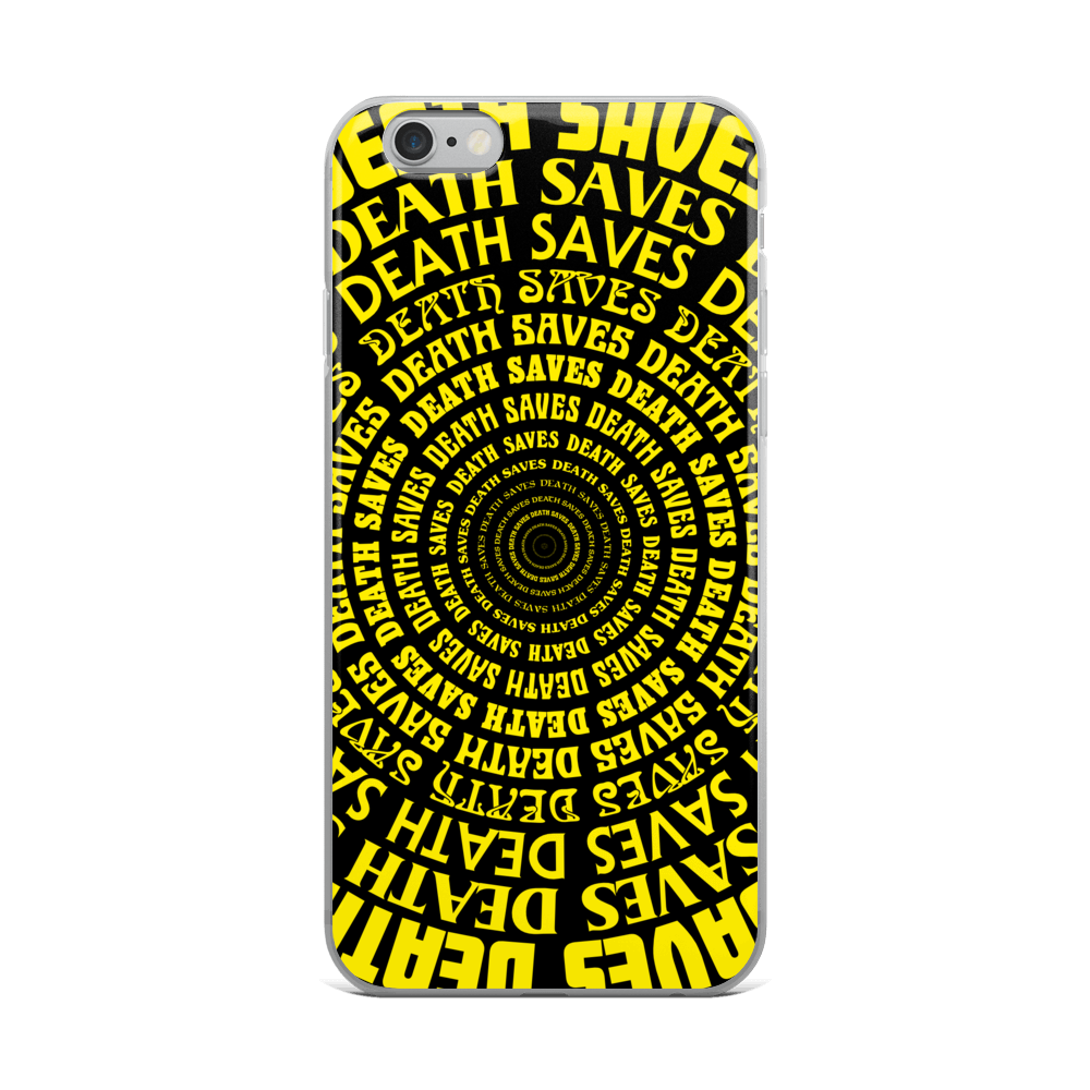 Programmed Illusion [YELLOW] iPhone Case