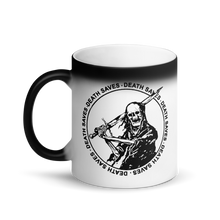 Swordsman Matte Black Magic Mug
