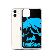 Death Saves Smoking Skull iPhone Case