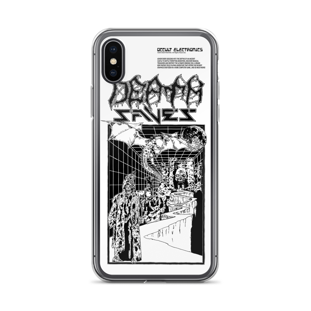 Computer Doom iPhone Case