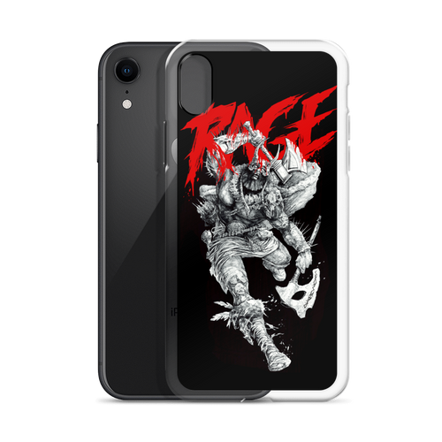 Rage iPhone Case