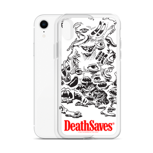 Gibbering Mouther Silver iPhone Case