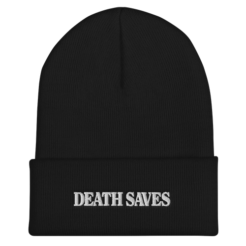White Death Saves Beanie