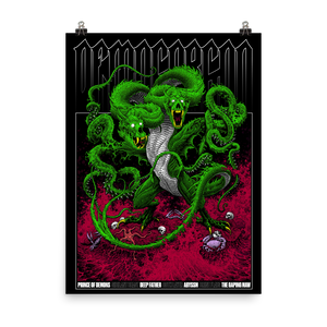 D&D Demogorgon Poster 18x24 [COLOR]