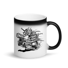 Death Saves Kustoms Matte Black Magic Mug
