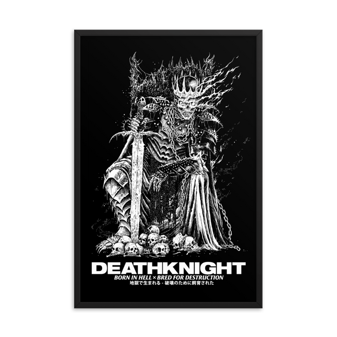 Death Knight Framed Poster [24x36]