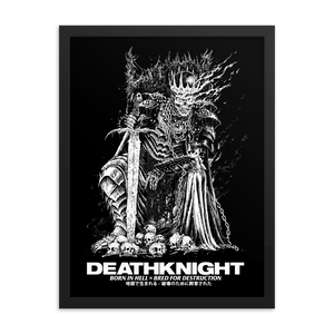 Death Knight Framed Poster [18x24]