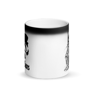 Death Knight Matte Black Magic Mug