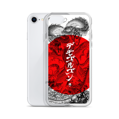 D&D Japanese Demogorgon iPhone Case