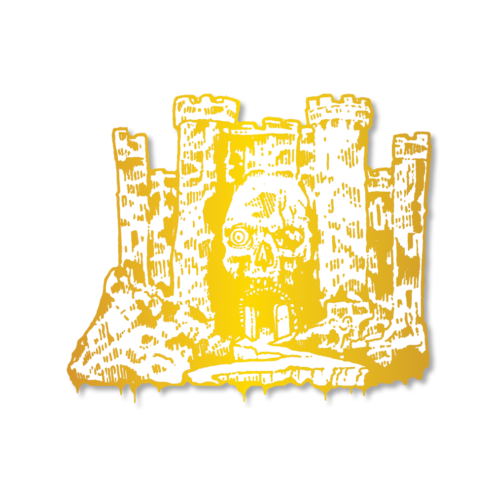 Castle Pin (Gold)