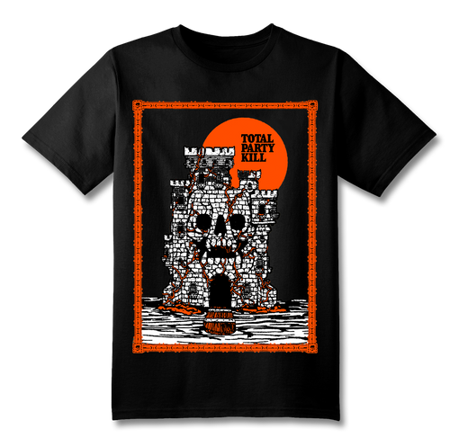 Total Party Kill SS T-Shirt (Orange on Black)