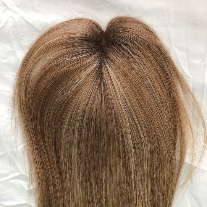 2019 NEW BLONDE NATURAL HAIR  TOPPER 50% OFF TODAY !!