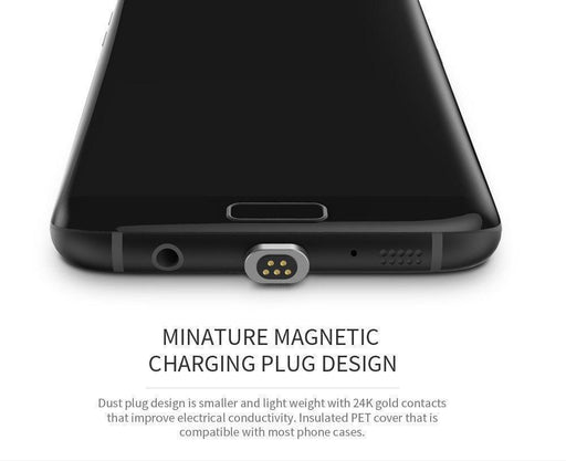 iPhones Android and iOS 3 in 1 Magnetic Charging Cable
