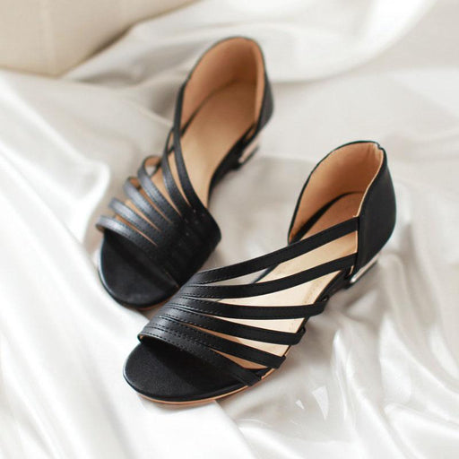 Peep Toe Wedge Sandals Shoes