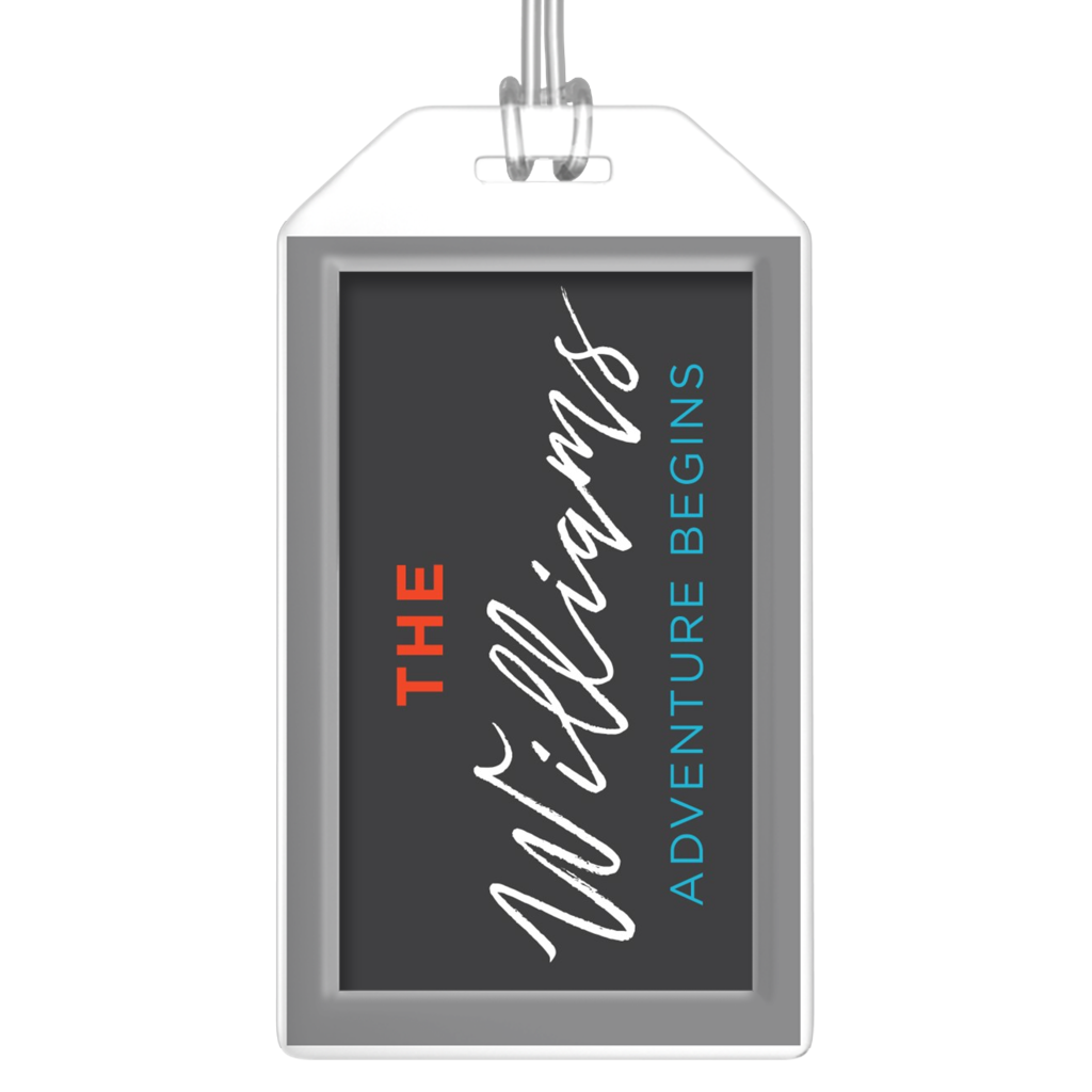 Personalized Family Adventure Luggage Tags