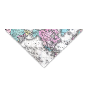 Maps of the World Pet Bandana