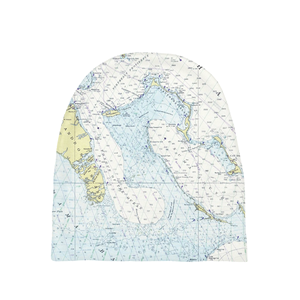 Maps of the World Baby Beanie