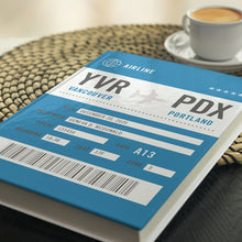 The Iconic Personalized Boarding Pass Journal