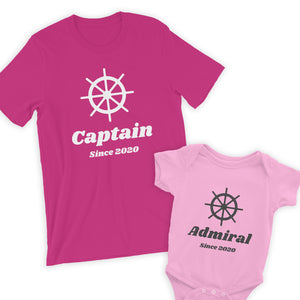 Captain & Admiral Parent & Baby Bundle
