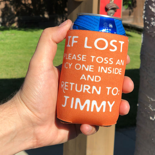 If Lost Can Cooler - The Ideal Personalized Summertime Gift!