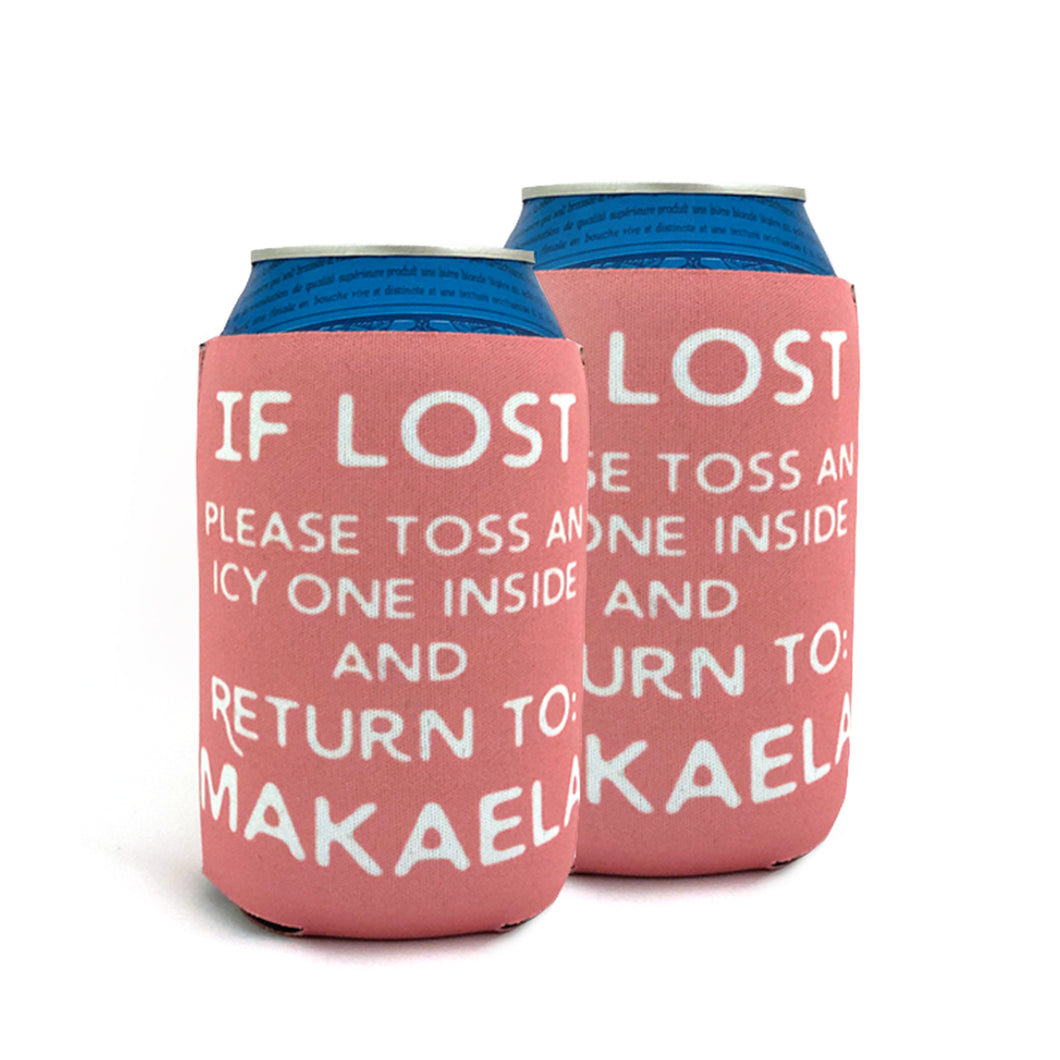 If Lost Can Cooler (Personalized!)