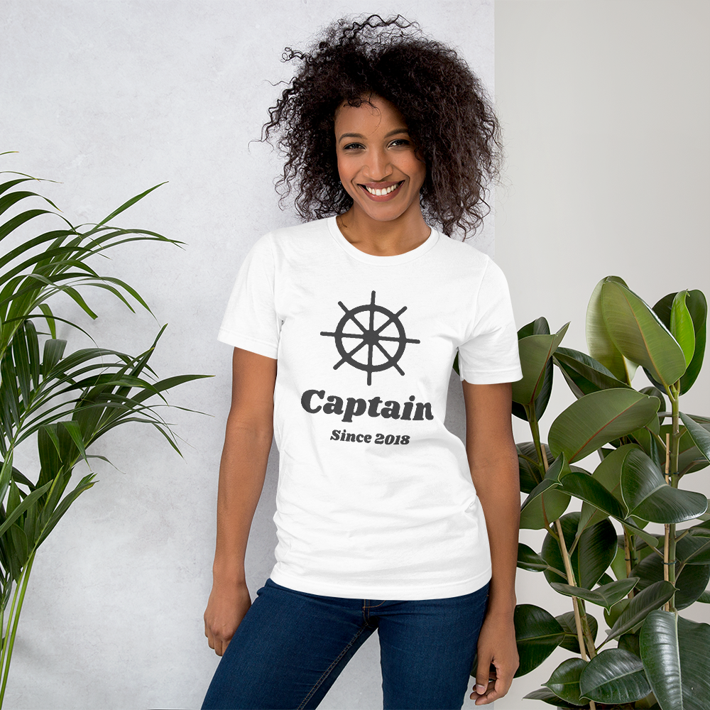 Captain & Admiral Jersey T-Shirt (Personalized!)