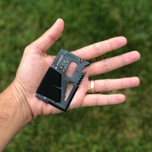 Old Faithful - Our 14-In-1 Pocket Survival Tool, Perfect For Any Traveler