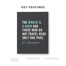 The World Is A Book Travel Journal - Stunning Signature Edition