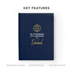 Extraordinary Life & Adventures Notebook (Personalized!)
