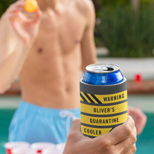 Quarantine Custom Can Cooler (Personalized!)