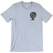 The Born To Travel Unisex T-Shirt - Cool Unisex Tee For Any Wanderer. Original Version!