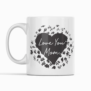 Personalized Love You Mom Mug