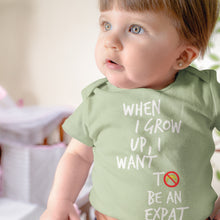 American Expat Dreams Baby Onesie - Guaranteed To Get A Chuckle