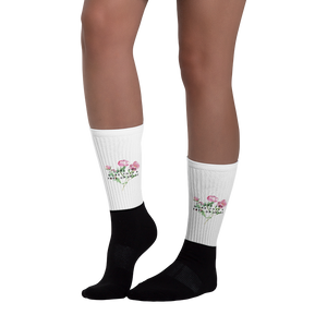 I Love You More Than A Free Upgrade - Funny Socks For Her